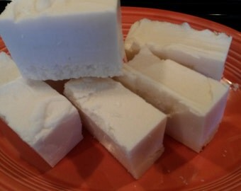 Laundry Soap Bars -  handmade Pre treat Stain stick Unscented Cold process grated or solid