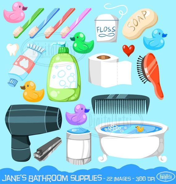 Bathroom Floor Clipart : Bathroom clipart hygiene download by digitalartsi