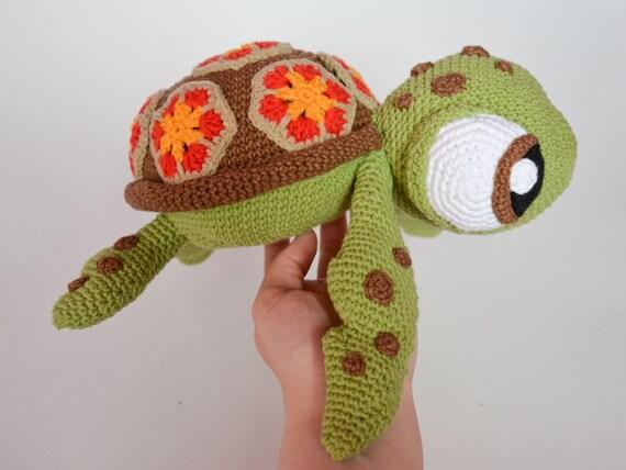 Crochet Pattern Sea Turtle By Krawka Turtle Tortoise