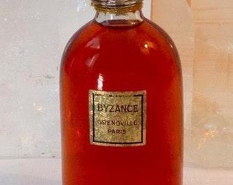 Grenoville, Byzance, 30 ml. or 1 oz. Flacon, Pure Parfum Extrait, 1926, Paris, France ..