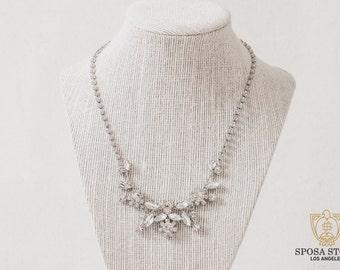 Wedding Jewelry Set - Dangle Earrings - Bridal Necklace Set - Bridesmaids Set - Bridal Jewelry Set - Wedding Earrings - Bridal Necklace