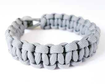 Custom Survival Paracord Bracelet - PGUK - Military - Rugged Mens Bracelet - Mad Max Inspired  - 74 Colours - Unisex Bracelet - Outdoors
