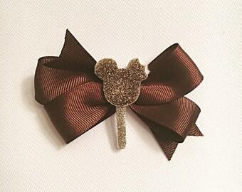 Mickey Ice Cream Hair bow