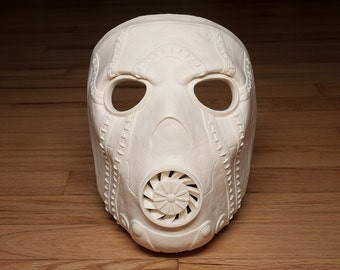 Borderlands Psycho Bandit Mask for Cosplay or Costume - Unpainted Resin Cast