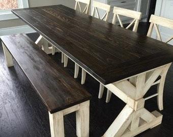 Post Trestle Farm Table (the liberty)