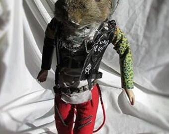 Punk wock wabbit
