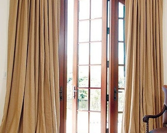 P2015# Burlap Pleated Drapery Lined (For a Double Window)......13 Colors