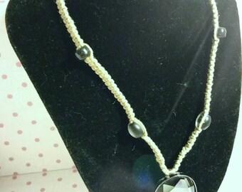 Reflective Pendant Necklace
