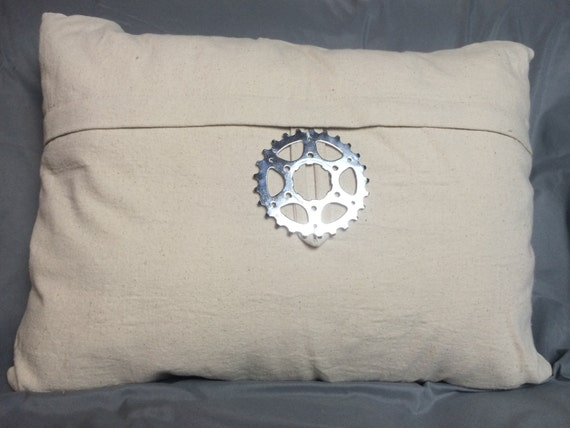 Man Cave Pillow With Cup Holder : Gear head decorative pillow man cave approved