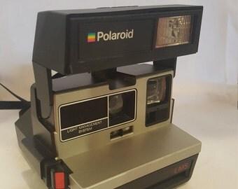 Vintage Polaroid Sun600 LMS Instant film Camera *Tested*
