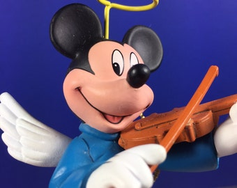 Mickey Mouse Angel Ornament