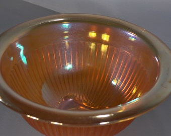 Vintage Carnival Glass Mixing Bowl - A00041