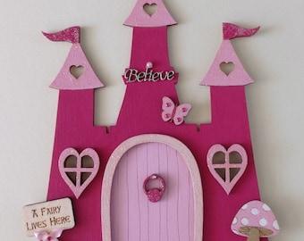 Princess Castle Fairy Door