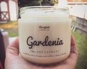 Gardenia Soy Candle | Non-Toxic | Non-GMO