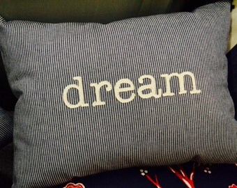 Word Pillow - dream