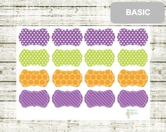 B43 Coloured Frames, perfect for any Planner