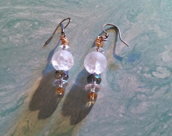 Crystal Princess earrings