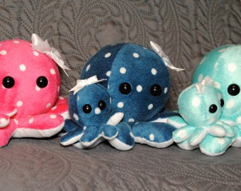 Mommy & Baby Octoplushie