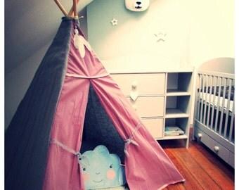 "Tipi ""Victoria""/ Kids design playhouse/Teepee"
