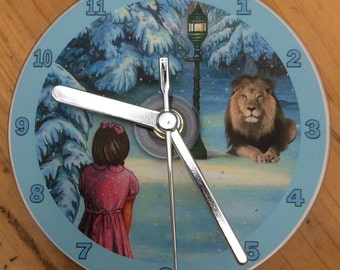 The Lion, The Witch and The Wardrobe CD CLOCK (Can be Personalised)