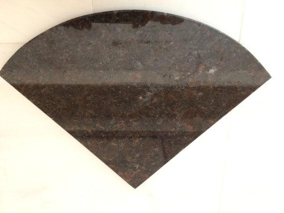 Tan Brown Granite Natural Stone Shower Corner Shelf