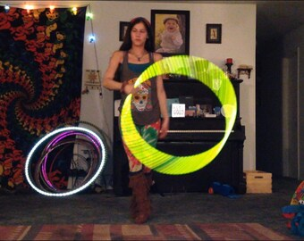 OG Kush Reflective Color Morph Polypro Hula Hoop