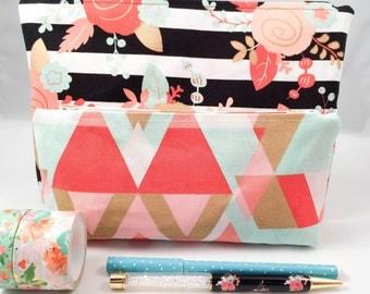 Hunkeedori Baggiees / Planner Accessories Pouch/ Makeup Clutch/ Travel Bag/ Clutchee