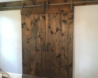 Custom Rustic Sliding Barn Door