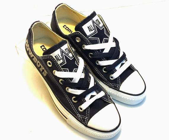 dallas cowboys all converse s by sportzunlimited