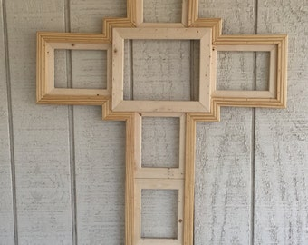 Cross picture frame