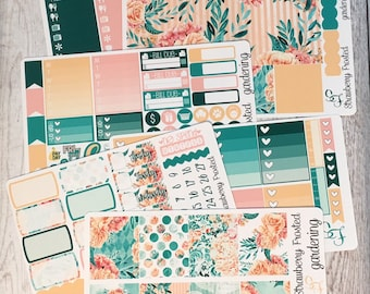 Gardening---- Weekly Planner Kit ---- {Includes 210+ Stickers}