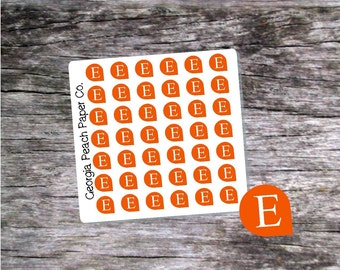 Etsy Planner Teardrop Stickers - Made to fit Vertical or Horizontal Layout