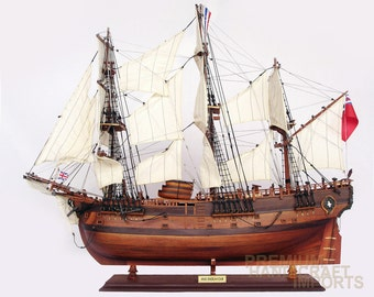 "38"" HMS Endeavour Replica Ship Model"