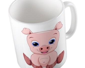 Emoji Cute Pig mug