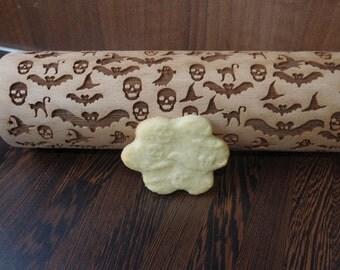 halloween rolling pin