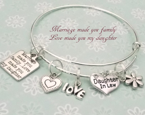 Daughter In Law Personalized Poem: Daughter In Law Gift Gift For Daughter In Law Mother To