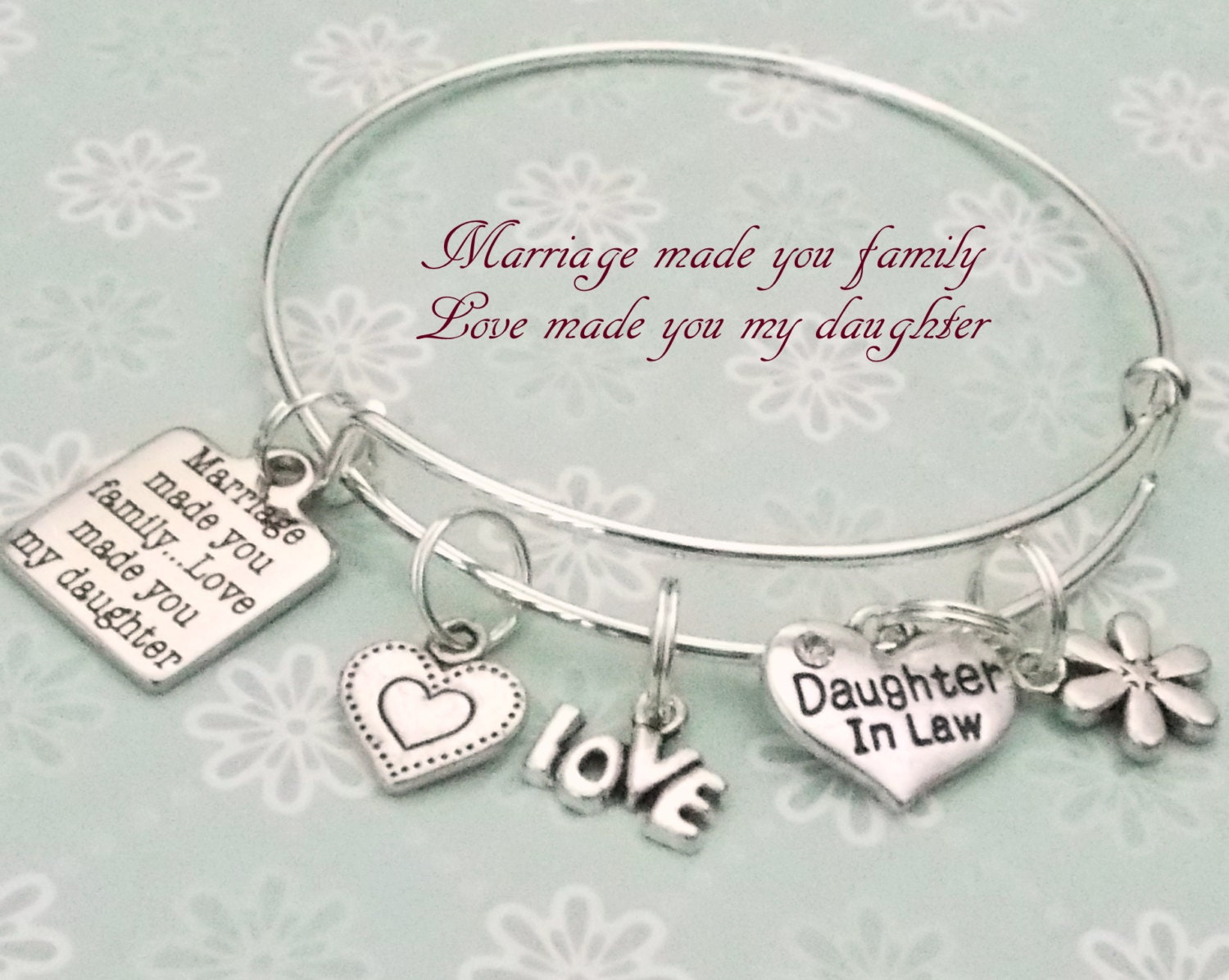 Daughter Son In Law Personalized Poem Christmas Gift: Daughter In Law Gift Gift For Daughter In Law Mother To
