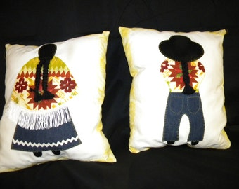 Pillows made by Native Americans