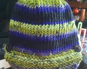Handmade Knitted Newsboy Hats