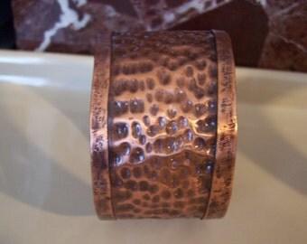 hammered copper cuff bracelet, handmade copper cuff bracelet, copper cuff bracelet, copper wrap bracelet, hipster copper cuff bracelet