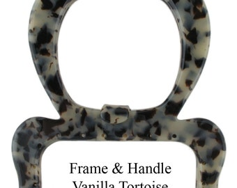 Plastic Purse Frame & Handle - Style FR 10