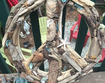 Peace Sign Driftwood