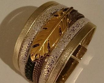 cufflinks Gold/White