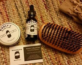 Beard Care Grooming Kit