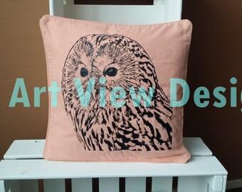 Pillowcase Snow Owl
