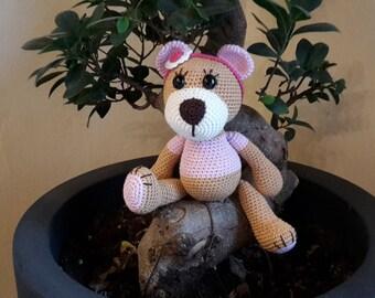 Sofia Teddy bear crochet - Amigurumi