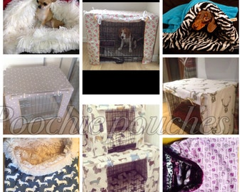 Fabulous large size made to order crate/ cage covers- dogs / cats/ birds computers