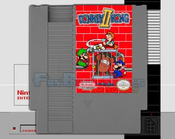 "IN STOCK! ""Donkey Kong 2"" Nintendo NES Homebrew Hack New Arcade Adventure!"