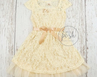 lace baby dress, lace girl dress, flower girl dress, lace dresses,  rustic flower girl dress, flower girl dresses, country flower girl