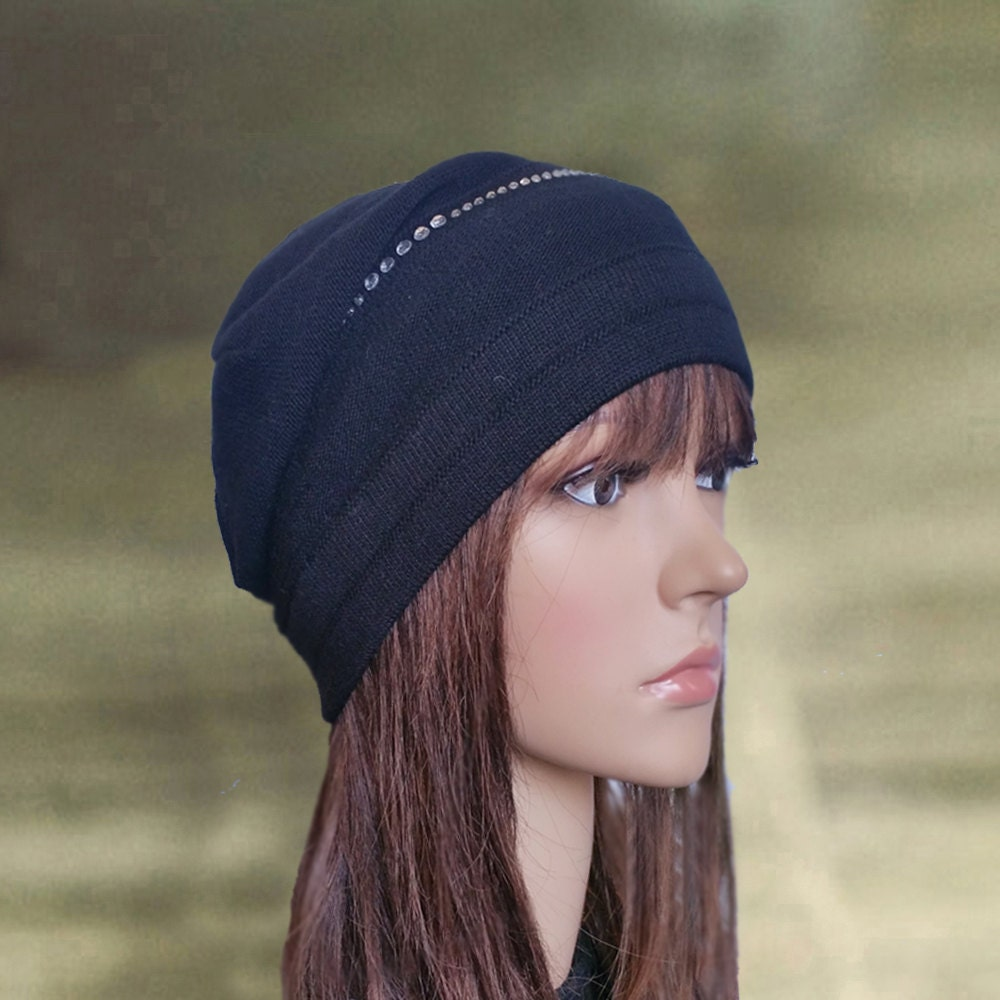 black slouchy hats womens black hats slouch beanie hat